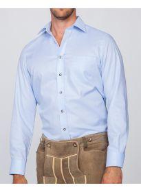 Trachtenhemd blau