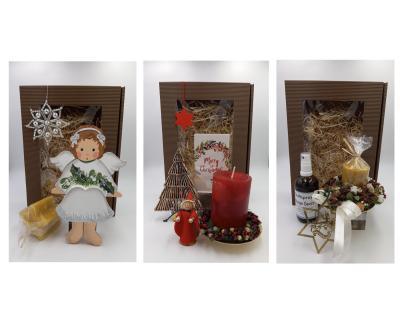 Regionale Weihnachtsgeschenksboxen zum Verschicken